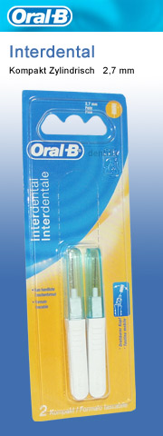 interdental brush Oral b