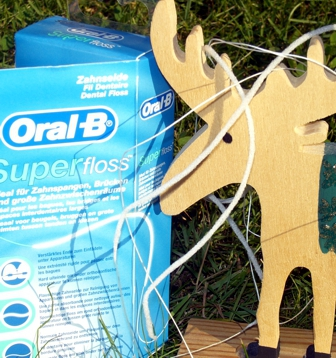 Oral B Superfloss Flausch Zahnseide Fäden
